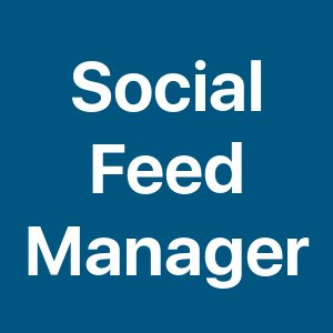 social feed manager